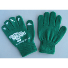 Gant de travail de mode simple couleur acrylique vert 10g