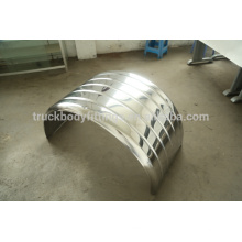 China made Stainless steel mudguard / fender for heavy truck and trailer 112008