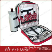 Best 4 Person Insulated Picnic Lunch Backpack Cooler Bag