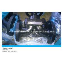 Válvula de diafragma forrado de acero Pfte / EPDM