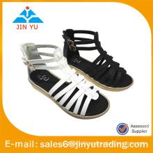 PU ankle sandal gladiator sandals