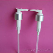 28-410 Lotion Pump with Silver Collar