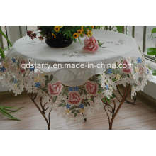Subbly Yarn Fabric Table Cloth 3821
