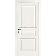 3 panel Swing Opeing dormitorio blanco pintado puertas de MDF