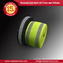 Environmental wearable lycra reflective webbing
