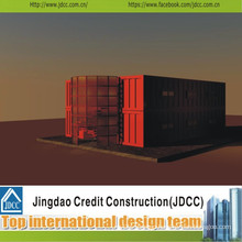 Low Cost and Pretty Prefabricated Hotel Building