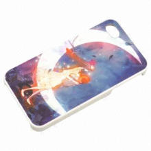 New Arrival Goddess Try Flying to the Moon Design Case for iPhone 4 with Good Quality