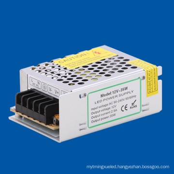 35W 12V Switching Power Supply with CE and RoHS