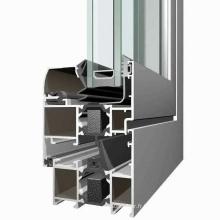 6063 profilés de portes et fenêtres en aluminium de haute qualité
