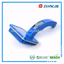 Directly Supply Durable Soft Plastic Pet Grooming Tool