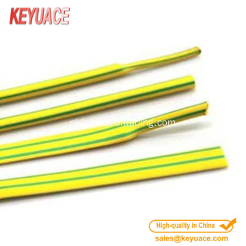 Excellent Tensile Colorful Heat Shrink Tube Geelgroen