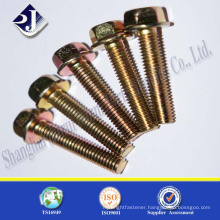 full thread flange bolt galvanizing