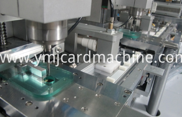 Smart Card Two Heads Slot Milling Machine