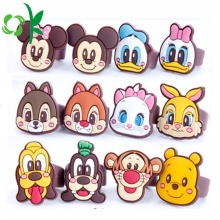 Popularny pierścień silikonowy Cartoon Mickeys Minnies Cute Rings