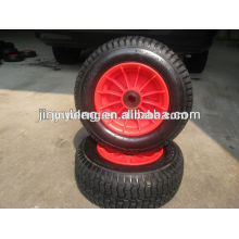 10 inches 16inches 6.50-8 4.10/3.50-4 rubber wheel, pneumatic wheel use for Lawn mower, wheel barrow ,lawn car