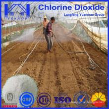 Polvo de dióxido de cloro usado para la agricultura