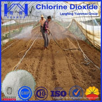 Effizientes Chlordioxidpulver zur Bodensterilisation für die Landwirtschaft