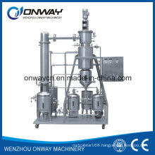 High Efficient Agitated Thin Film Distiller Vacuum Distillation Equipment to Recycle Used Cooking Oil Used Oil Pyrolysis Oil