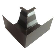 6 Zoll K Style Elegantes Design Aluminium Gutter Zubehör Stecker