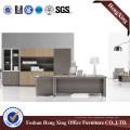 Wooden Melamine Laminated Boss Office Table (HX-6M037)