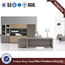 Wooden Melamine Laminated Boss Office Table (HX-6M037)