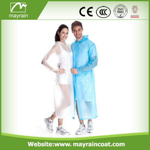 PVC Raincoat for Hiking