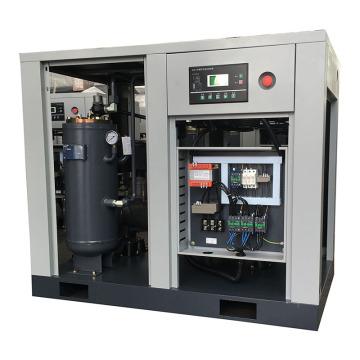 Compresseur d'air de vis de 20HP 15KW 380V / 50HZ / 3PH injecté par huile