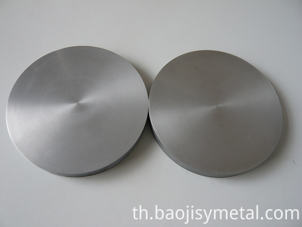 Polished Surface Zirconium Pure Zirconium Target