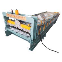 Máquina de fazer telha de telhado de aço colorido para venda
