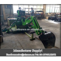 Hydraulic side shift backhoe/ Mini excavate with grapple