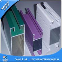 Profil d'aluminium 6063 avec haute qualité