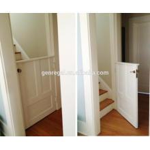 Межкомнатные деревянные двери наполовину