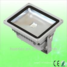 Alta calidad con alta potencia al aire libre IP65 100-240V 110v 120v 6000 lúmenes 50w llevó la luz de inundación