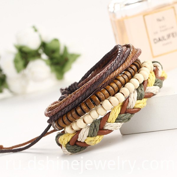 Wooden Beads Friendship Bracelet