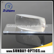 Optical Glass Fresnel Large Size Cylinder Lens For Instruments