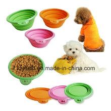 Pet Bowl Feeder Biodegradable bambú Power Dog Bowl