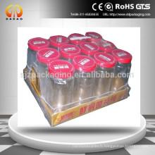 PE film rétractable thermorétractable sur rouleau pour boîte Emballage