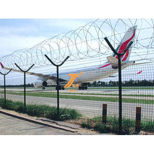 Airport Fence High Protection of Barbed Wire Fence