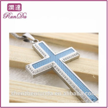 2014 wholesale alibaba stone cross pendants