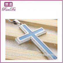 2014 оптовая alibaba каменные кресты подвески