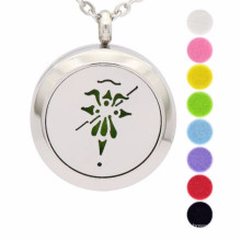 Fashion aromatherapy diffuser locket necklace pendant jewelry