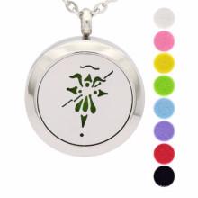Мода ароматерапия диффузор медальон кулон ожерелье ювелирные изделия
