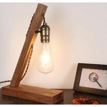 Wooden Desk Light Electric Wood Table Lamp