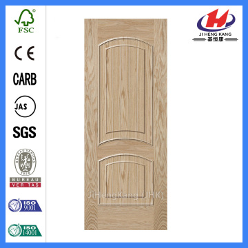 JHK-M09 natural ash door skin solid wood style beautiful texture 2panel