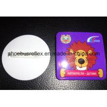 5,8 cm Durchmesser Reflektor mit Sicherheitsnadel / Reflektierende Abzeichen