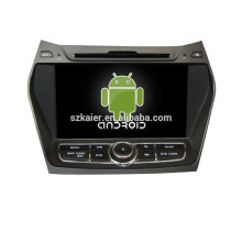 8Inch Android 4.4 car dvd player GPS for Hyundai IX45 with mirror-link car gps