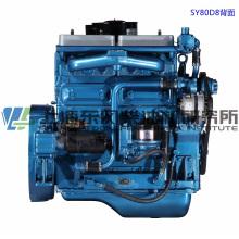 4 цилиндра, 81 кВт, дизельный двигатель Shanghai Dongfeng для генераторной установки
