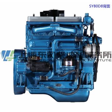 4 Cylinder, 81kw, Shanghai Dongfeng Diesel Engine for Generator Set