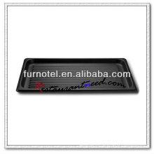 Bandeja para hornear antiadherente con aleación de aluminio acanalada S486