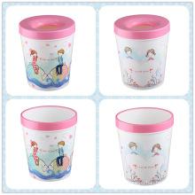 Sacola de papelaria / cesta de papelaria de impressão de desenhos animados (FF-5212)